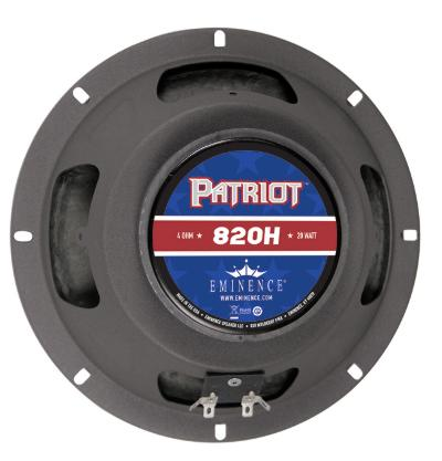 Eminence Adds 8 Inch Guitar Speaker And 12 Inch Pedal