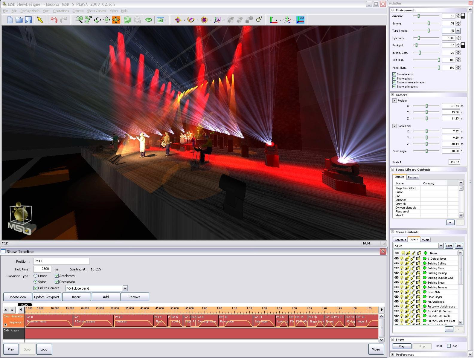 Free stage lighting design software vectorworks spotlight